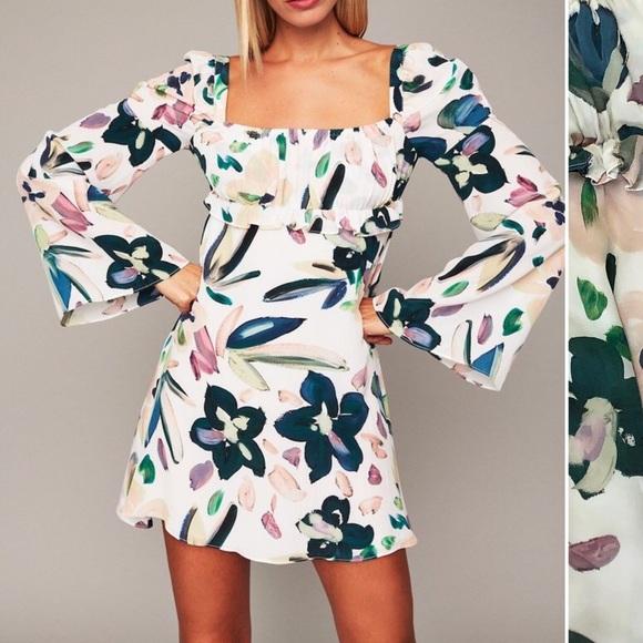Stone Cold Fox Dresses & Skirts - Cold Stone Fox Silk Vine Dress